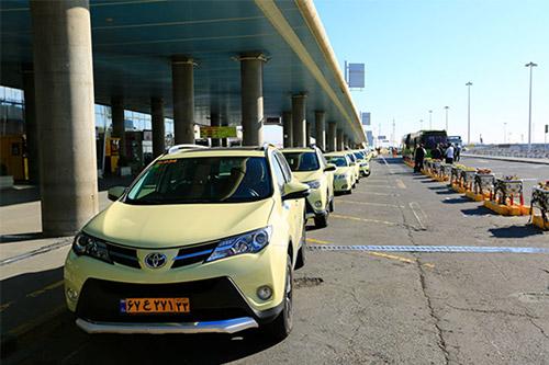 تاکسی فرودگاه مهرآباد