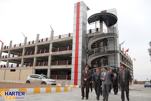 پارکینگ طبقاتی فرودگاه اصفهان