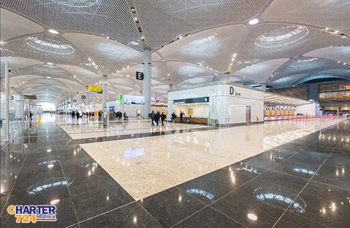 ترمینال اصلی فرودگاه جدید استانبول