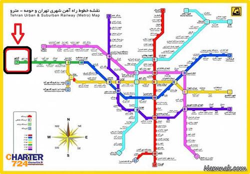 مترو فرودگاه پیام