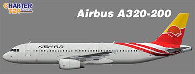 airbus 320 kish air