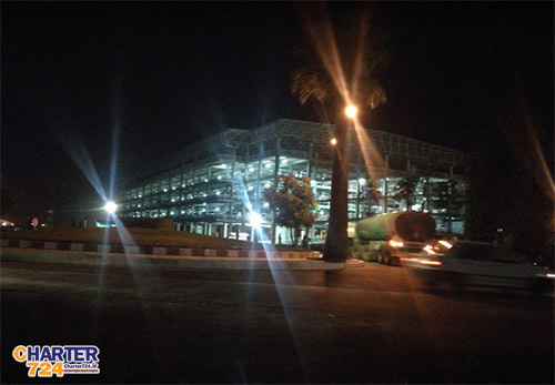 پارکینگ طبقاتی فرودگاه شیراز